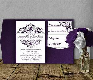 gorgeous pocketfold wedding invitations that you edit and With wedding invitations you can print yourself