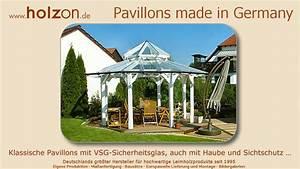 Pavillon Dach Selber Nähen : pavillon aufbauen gartenpavillon modern design z b holz glas selber bauen nach ma von holzon ~ Eleganceandgraceweddings.com Haus und Dekorationen