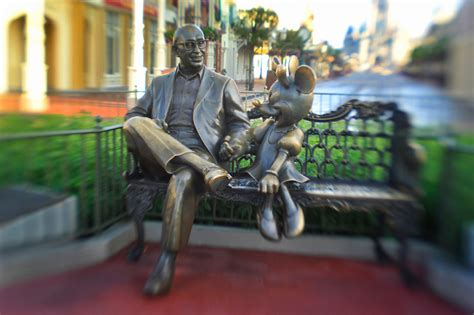 Walt Disney Bench by The Magic At Walt Disney World Disney Parks