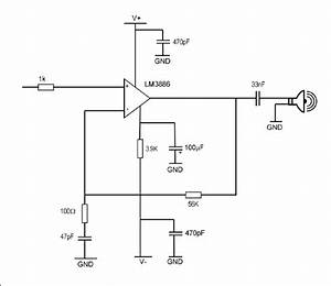 9  Circuit Diagram Of The Tx Transducer Driving Circuit