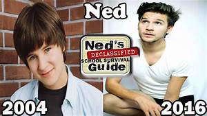 Ned U0026 39 S Declassified School Survival Guide Then And Now 2016