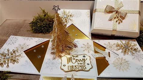 Weihnachtsdeko Für Die Gartenbank by Anleitung Explosionsbox Weihnachten Mit Abgeschr 228 Gtem