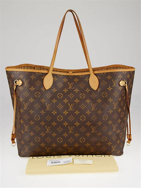 louis vuitton monogram canvas neverfull gm bag yoogis