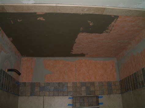 pictures of tiled bathrooms for ideas how to install tile on a shower ceiling