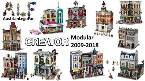 lego creator expert 2018 lego creator expert modular buildings 2009 2018 lego speed build review