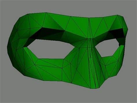 green lantern papercraft mask papercraft paradise