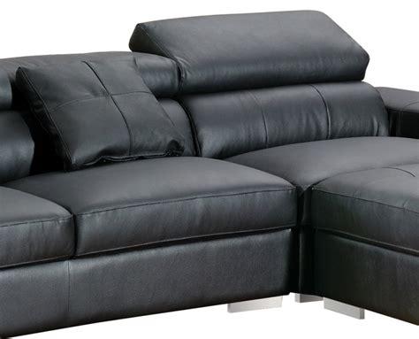 canape d angle cuir noir canape d 39 angle vivalto cuir noir canapé topkoo