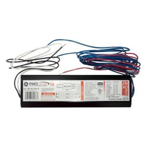 GE 120 to 277 Volt Electronic Ballast for 8 ft.2 or 1 Lamp