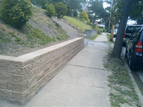 Decorating: Chic Versa Lok For Retaining Wall Ideas