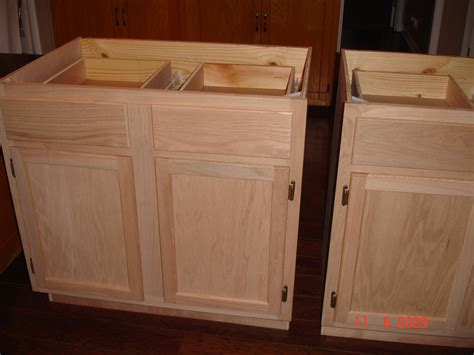 Furniture Choose Your Unfinished Wood Cabinets For