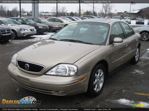 2000 Mercury Sable LS Premium Sedan Harvest Gold Metallic ...