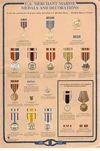 awards and decorations of the united states merchant marine