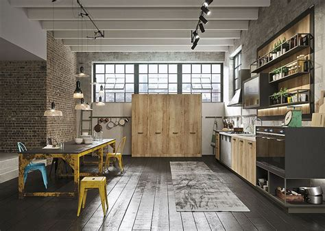Refined Kitchen Brings Industrial Richness To Urban Interiors