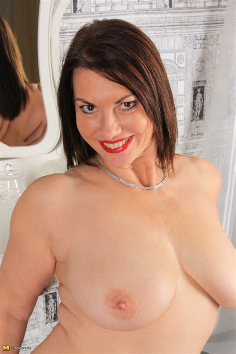 british big breasted milf christine o fooling around