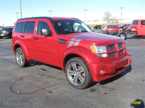 Inferno Red Crystal Pearl 2011 Dodge Nitro Shock Exterior