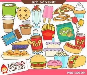 Junk Food Clipart | Clip art, Art and Food groups