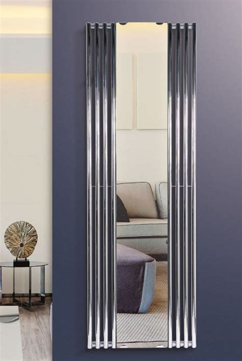 chroom spiegel radiator designradiatornl levert de