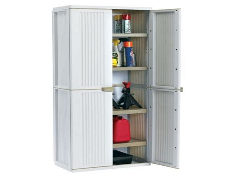 furniture rubbermaid storage cabinets  garage