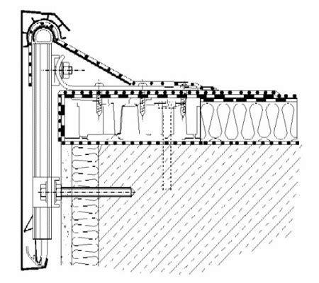 flachdach ohne attika dachrandabschl 252 sse flachdach detailzeichnungen baunetz wissen