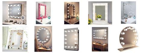 spiegel mit glühbirnen spiegel kaufen schminktisch top modelle im vergleich 2019