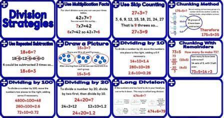 25 best ideas about division strategies on pinterest