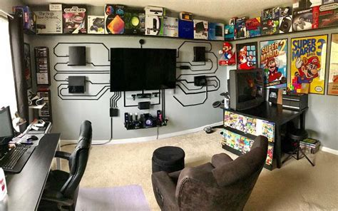 My Gaming Living Room by Epic Gaming Room