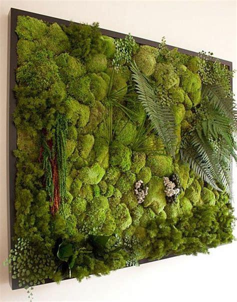 moosbild selber machen 1001 ideen zum thema moosbilder selber machen diy deko vertikaler garten diy moosbilder