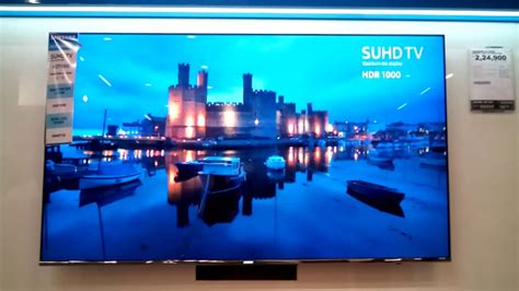 Samsung Suhd Tv Quantum Dot Display Inch Big Television