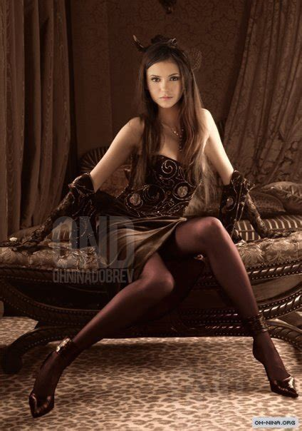 Nina Dobrev New Photo The Vampire Diaries Tv Show