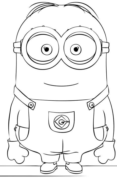 disegni da colorare minions pdf 14 disegni minions da colorare e stare disegni minion