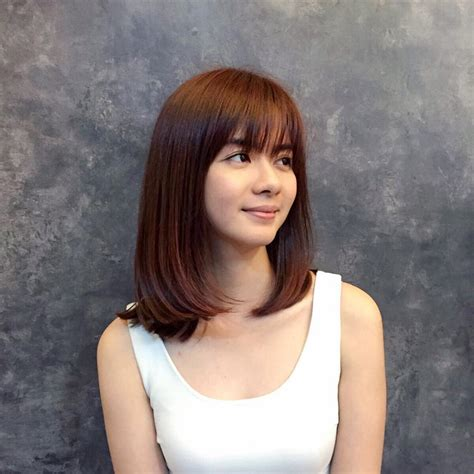 medium length bob hairstyle for asian girls 2017 styles