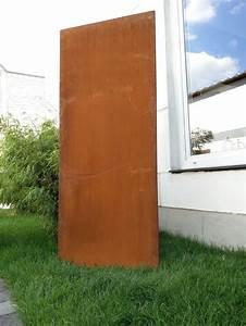 die besten 17 ideen zu sichtschutz metall auf pinterest With französischer balkon mit pflanzschale rost garten