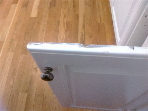 How To Paint Cupboard Doors by How To Repair And Paint Thermofoil Cabinets Kitchen