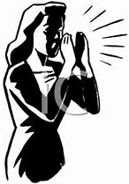 Image result for free clip art of person shouting