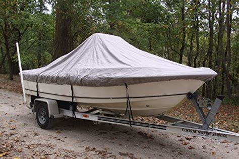 18 Center Console Boat Covers by Vortex Heavy Duty Grey Gray Center Console Boat Cover
