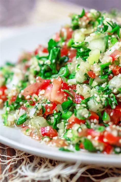 tabouli recipe tabouli salad recipe tabbouleh the mediterranean dish