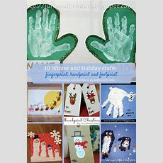 Winter And Christmas Themed Crafts For Kidshandprint