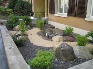 Steingarten Bilder Beispiele : steingarten vorgarten ~ Whattoseeinmadrid.com Haus und Dekorationen
