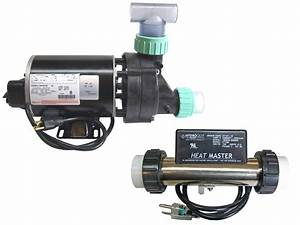 Whirlpool Bathtub Jet Pump  U0026 Heat Master Inline Heater