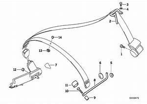 Bmw 325i Bar Right  Electrical  Belt  Safety