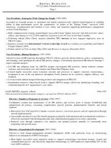 Best Hr Resume by Hr Resume Cv Resume Template Exles