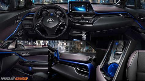 toyota chr  hr price specification launch interior