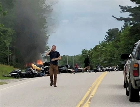 Officials Seek Help In Motorcycle Crash Probe