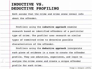 Criminal Profiling Research Research Links – Criminal