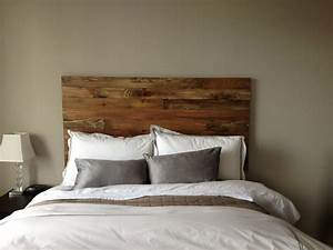 cedar barn wood style headboard king size handmade in With barnwood headboard king
