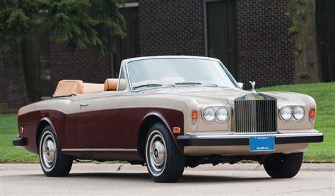 2000 Rolls Royce Corniche Convertible