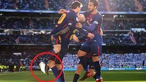 Leo Messi Hizo La Jugada Del Tercer Gol Medio Descalzo