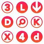 Icon Orange Ios Gradient Sets Icons Iconsetc