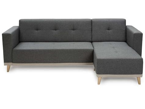 canapé tissu conforama canapé d 39 angle fixe 3 places en tissu coloris gris