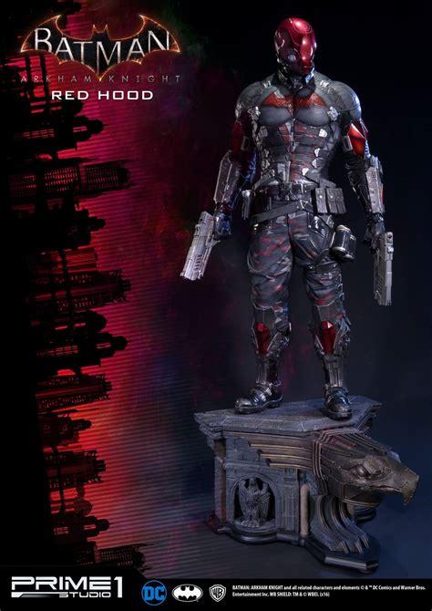 batman arkham knight red hood statue  prime  studio